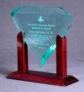 Diamond Awards with Rosewood Base