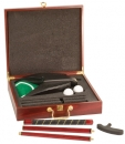 Rosewood Finish Excutive Golf Gift Set